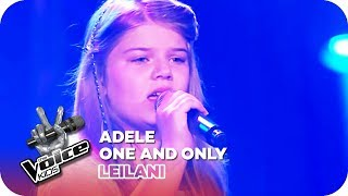 Video Adele - One and Only (Leilani) | Blind Auditions | The Voice Kids 2016 | SAT.1 download MP3, 3GP, MP4, WEBM, AVI, FLV Juli 2018