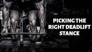 Finding Your Deadlift Stance