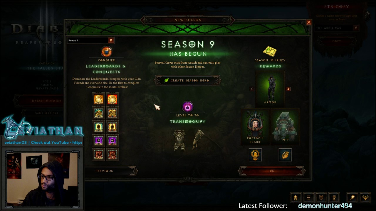 Diablo 3] Season 9 Haedrig Gift Sets & Conquests Highlight - YouTube