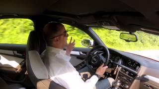 2013 І Ауді С4 Керівництво 2014 - 6 Швидкість - Тест-Драйв - Відео Огляд - Водіння Відгук