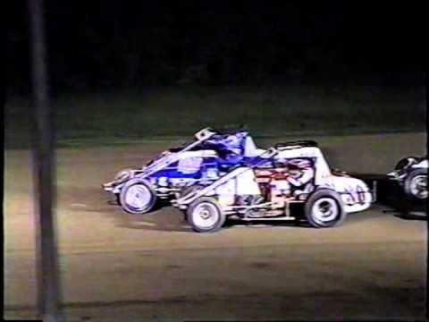 Bill Baker's #99 Crash at Terre Haute 2001