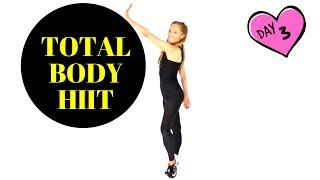 FAT BURNING TOTAL BODY HIIT CARDIO WORKOUT - HOME FITNESS EXERCISE ROUTINE - SUITABLE FOR EVERYONE