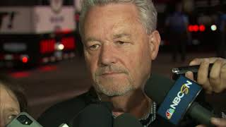 NASCAR's Scott Miller discusses pit-road incident