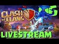 Clash of Clans - Reboot - Live Stream 6 - Flag Pushing