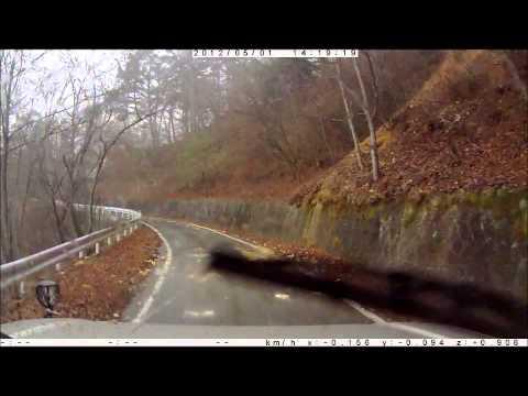 【林道ドライブ】観音峠大野山林道・山梨 Kannon-toge Onoyama