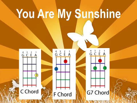 7.5 MB) You Are My Sunshine Chords - Free Download MP3