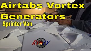 Airtabs Vortex Generator - Sprinter Van Build - March 2020