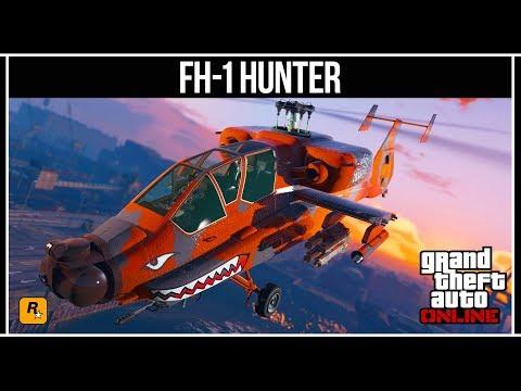 GTA Online: Боевой вертолёт FH-1 HUNTER