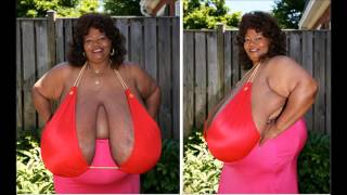 Repeat youtube video Annie Hawkins-Turner AKA 'Norma Stitz' Holds Guinness World Record For Largest Breasts
