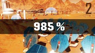 Лютый Хардкор на Марсе: Всё чётко! - 985% / Surviving Mars / Попытка 2