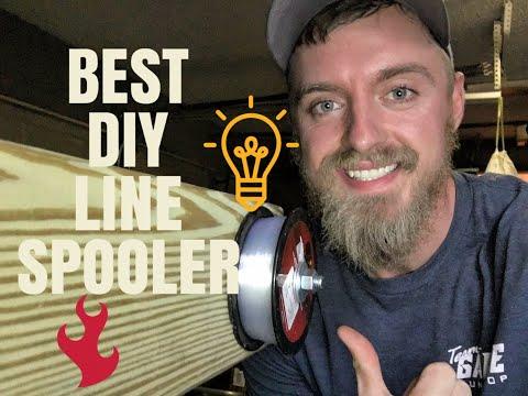 CHEAP DIY LINE SPOOLER