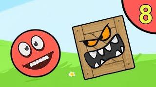 Несносный красный шар. Покатушки #8. Мультик ИГРА Red Ball 5 World на Игрули TV