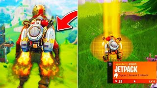 J´AI TROUVÉ LE JETPACK SUR FORTNITE BATTLE ROYALE ! LIVE EN DIRECT | PS4 FR