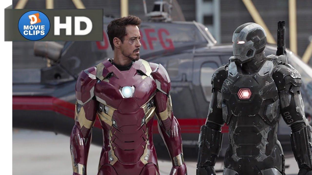 Download Captain America: Civil War Hindi (08/14) Airport Action Scene Part-1 MovieClips