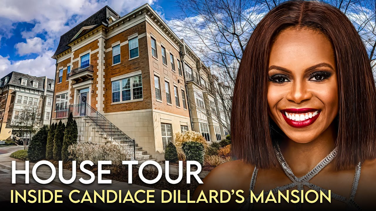 Download Candiace Dilliard Bassett | House Tour | $1 Million Maryland Mansion & More | RHOP