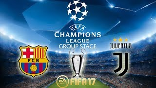 vuclip FIFA 17 Barcelona vs Juventus | Champions League Group Stage | PS4 Full Match