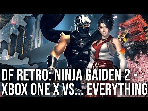 Сравнение обновленной версии Ninja Gaiden 2 для Xbox One X с оригиналом