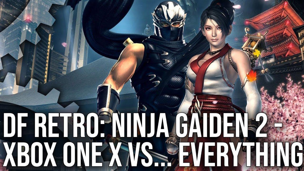 4k Df Retro Ex Ninja Gaiden 2 X Enhanced On Xbox One X Vs 360