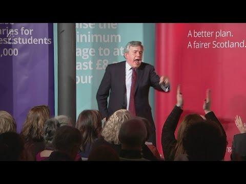 Gordon Brown's speech: enough to save Labour in Scotland?