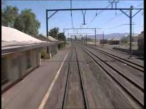 train cab ride through mountains outside cape town south africa onboard rovos class 6e1