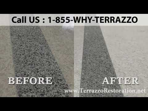 What is Clean Terrazzo Floor Service in Broward County?