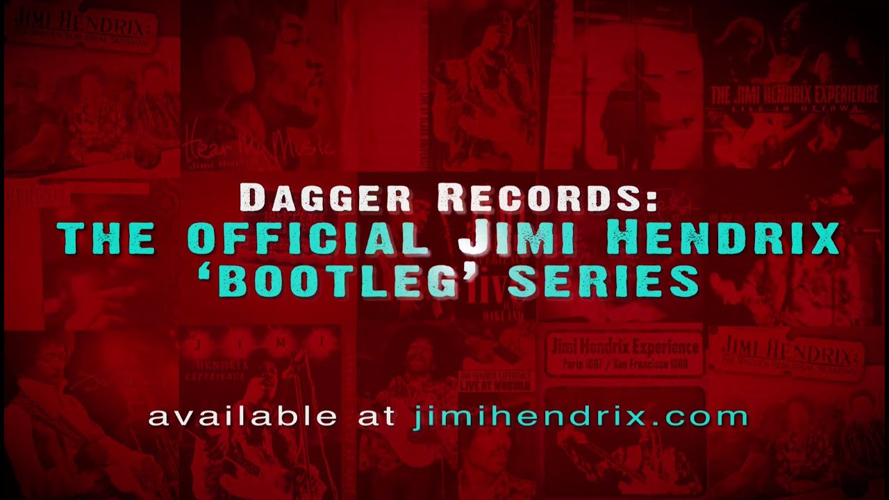 Dagger Records  The Official Jimi Hendrix Bootleg Label