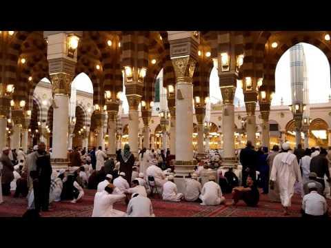 Adzan di Masjid Nabawi Madinah....umrah 2016