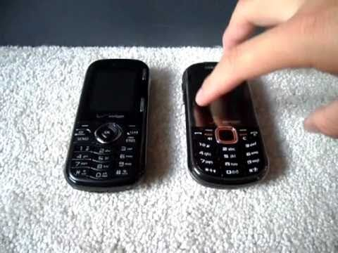 Verizon Wireless Samsung Intensity II & LG Cosmos Comparison/Review/Opinion