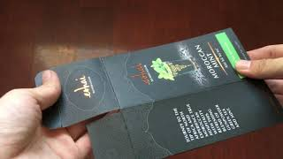 Organic tea Retail Packaging Box