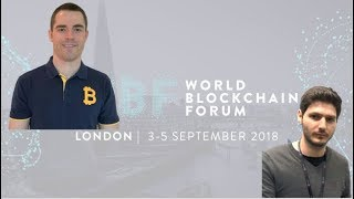 World Blockchain Forum London -  Roger Ver مقابلة مع
