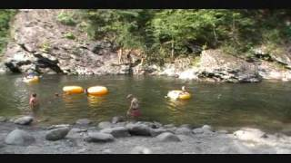 Tubing down Little Pigeon River--Tn.wmv