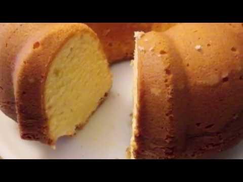 EASY CREAM CHEESE POUND CAKE - Recipe