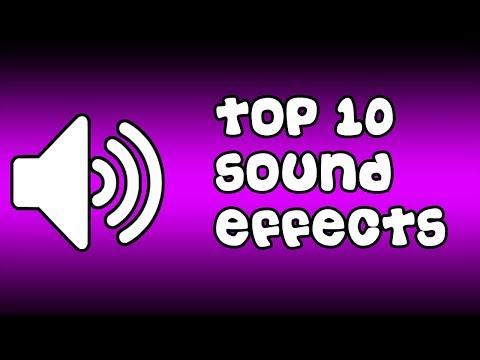 #2 Youtuber'lar için ses efektleri - TOP 10