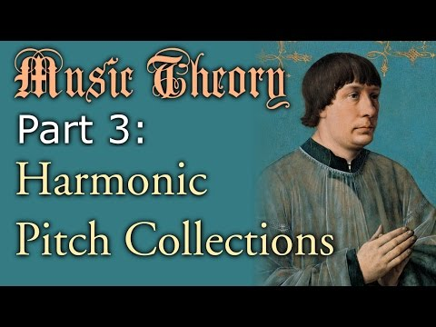 Music Theory Part 3: Harmonic Pitch Collections