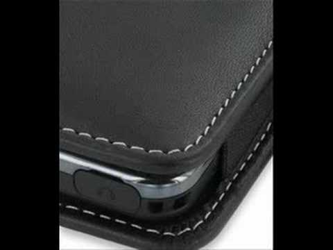 PDair Leather Case for Samsung Instinct SPH-M800 - Vertical