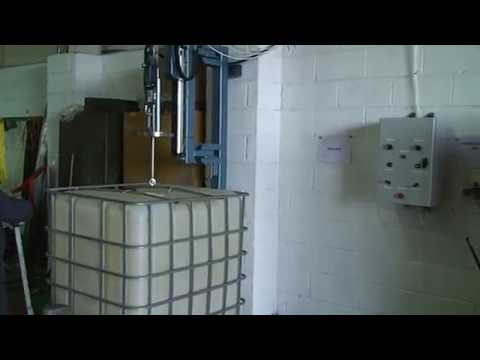 Ibc Wash Rinse Station Youtube