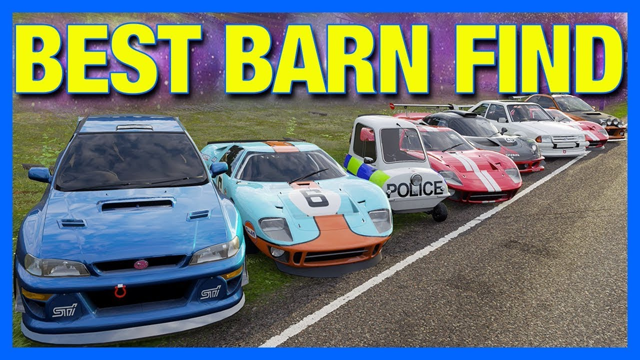 Forza Horizon 4 Online Best Barn Find Powered By