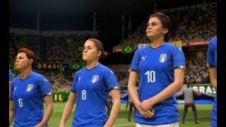 [HD] Italy vs Brazil | Match Coupe du Monde 2019 FIFA | 18 Juin 2019 | FIFA 19