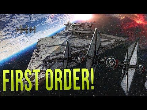 FIRST ORDER FLEET vs PIRATES! - Star Wars Empire at War - Yoden Mod