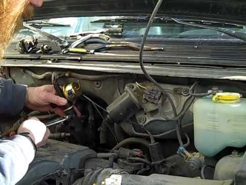 Fuse Box Diagram Replace Heater Valve 95 Plymouth Mini Van Youtube