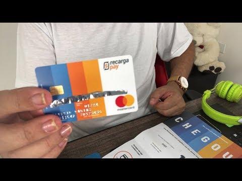 Conheça o Cartão e Conta Digital RecargaPay