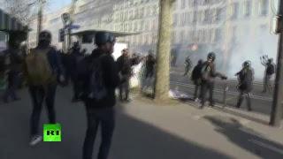 Protestas en Tirana (Albania) contra el primer ministro  Edi Rama