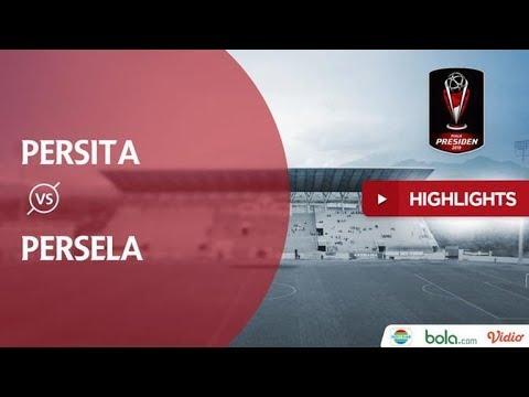 Persita 0 - 2 Persela #pialapresiden2019
