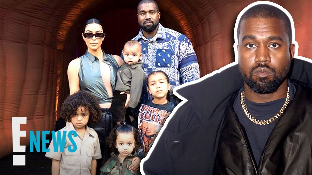 Kanye West Requests Joint Custody in Response to Kim's Divorce Filing News