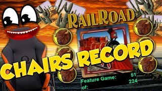 Chairs BIG WIN!!! Railroad - Huge Win - Casino Games - free spins (Online Casino)