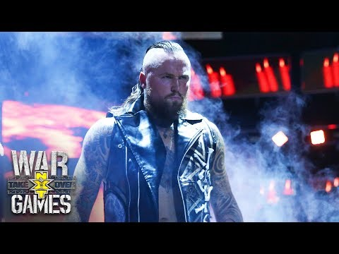 Aleister Black makes his imposing ring entrance: NXT TakeOver: WarGames (WWE Network Exclusive)