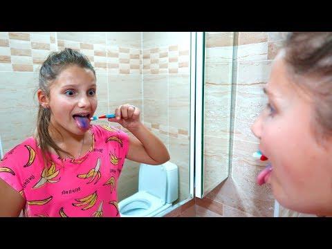 Как смыть чернила с языка