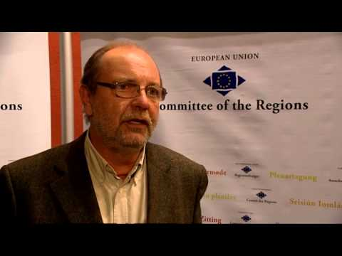 Alain HUTCHINSON's interview on posted workers, Committee of the Regions (29/11/12)