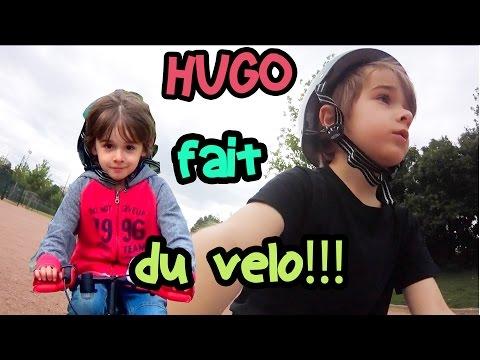 HUGO SAIT FAIRE DU VÉLO SANS LES ROULETTES!! VLOG ANGIE MAMAN 2.0