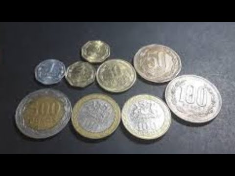 Chile's Current Coins